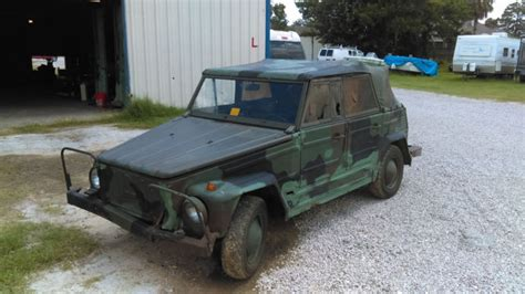 1976 Vw Kubelwagen Thing Type 181 German Military Nato