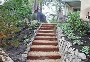 Gartentreppe Bauen Holz : 50 ideen f r gartentreppe selber bauen leichter zugang und sch nes aussehen gartenideen ~ Eleganceandgraceweddings.com Haus und Dekorationen