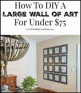 Dining room makeover how to fill a large wall with art