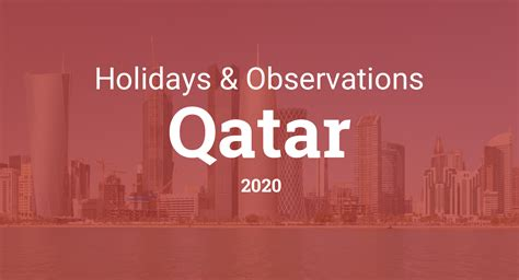 holidays  observances  qatar