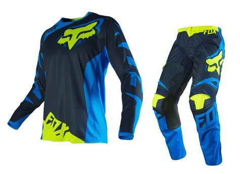 motocross racing gear fox racing new 2016 mx 180 race blue fluro yellow