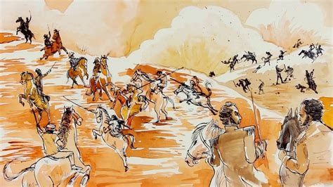Dibujos Para Colorear Sobre La Batalla De Boyaca