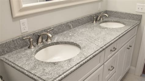 Bathroom Vanity With Granite Countertop - selecting the right countertop thickness home design tips