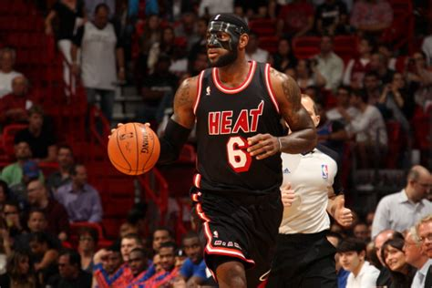 nba tells lebron  ditch  black mask  wear  clear