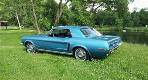 1968 Ford Mustang 6 Cylinder 200 Ci 3 Speed Manual