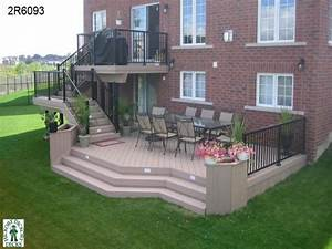 2 Story Apartment Design Plans Multi Level Deck Design Ideas Two Level Deck Designs Plans