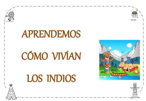 Proyecto Los Indios Infantil