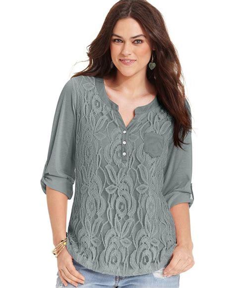 womens plus blouses fashionable plus size tops for univeart com