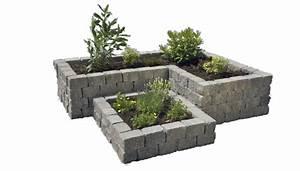 Hochbeet In L Form : hochbeet aus stein gemauert interessante ~ Michelbontemps.com Haus und Dekorationen