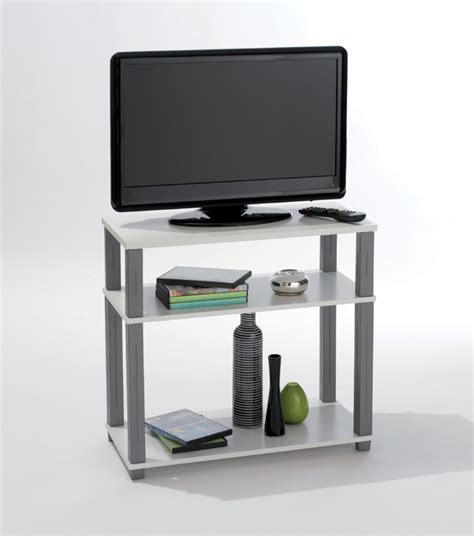 meuble tele pour chambre meuble tv polytub blanc