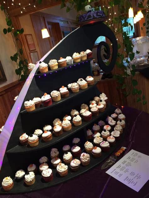 nightmare  christmas themed cupcake stand
