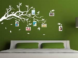 Wandtattoo Mit Bilderrahmen : wandtattoo zweig mit fotos als bilderrahmen bei ~ Bigdaddyawards.com Haus und Dekorationen