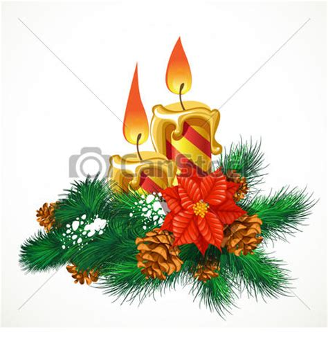 clipart natale free candele natale