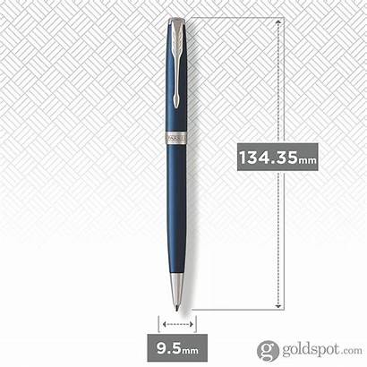 Parker Ballpoint Sonnet Pen Lacquered Retractable Chrome
