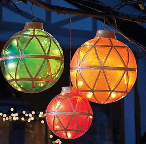 illuminated led ornaments holidays