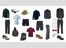 Men's Capsule Wardrobe for a Cruise Vacation