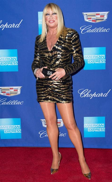 Suzanne Somers Re-Wears Balmain Minidress at Age 71