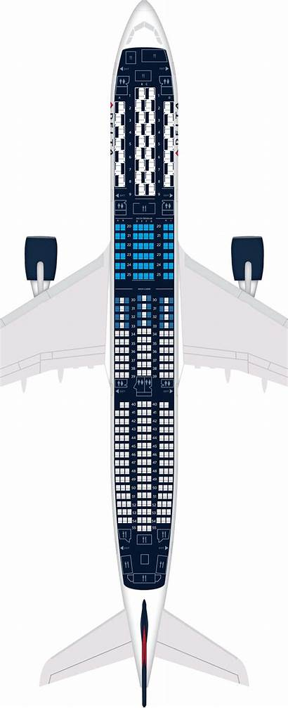 Aircraft A350 Airbus Seat Delta Class Economy
