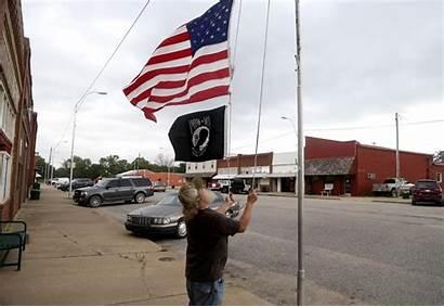 Welch Okla Tulsa Spotlights Towns Flag Story