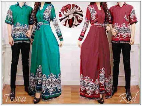 baju batik couple claudia cp busana muslim couple