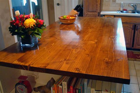 diy wood countertops how to make a wood countertop home on 129 acres