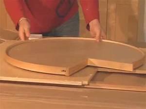 Standard Lazy Susan Cabinet Installation Instruction - YouTube