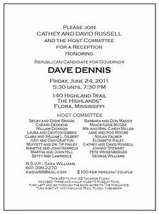 Appreciation Party Invitation Wording Political Fundraiser Flyer Invitation To Political