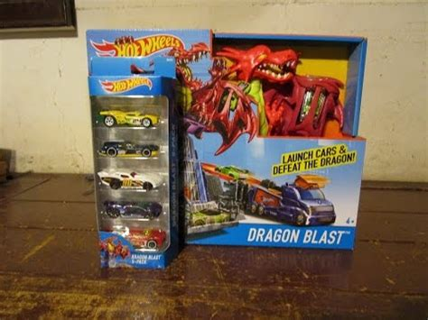 hot wheels dragon blast playset  pack youtube