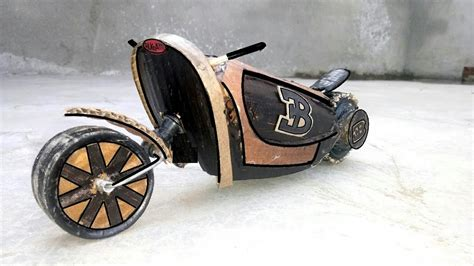 How To Make A Motorcycle (bugatti Motorcycle) Amazing Diy
