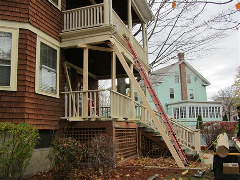 How To Replace Front Porch Columns by Porch Column Replacement