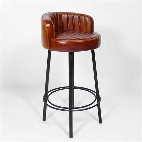 chaise de bar vintage tabouret de bar style vintage américain des ées 50