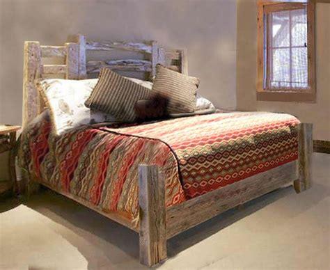 rustic western style beds custom handmade bedroom