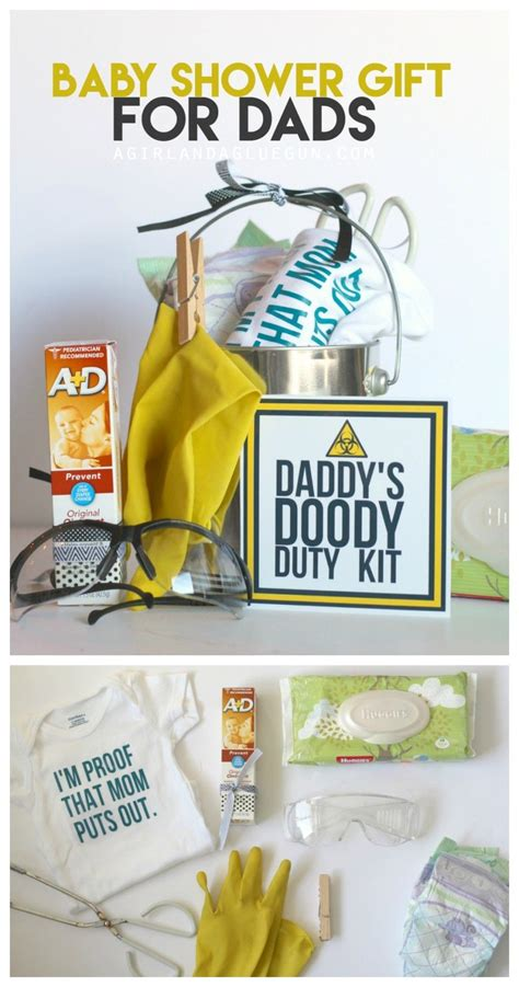 funny baby shower gift daddy doody duty kit gift ideas