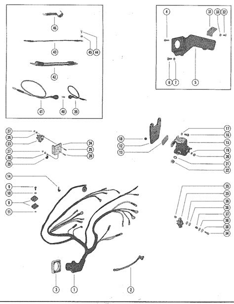 mercruiser 215 mie ford 302 v 8 1970 1972 wiring harness