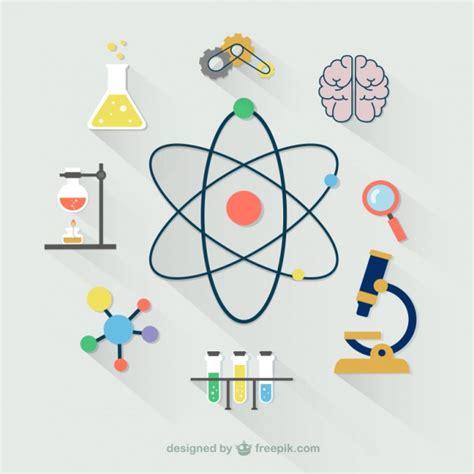 Colección De Iconos Científicos  Descargar Vectores Gratis