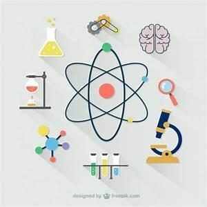 Colección de iconos científicos | Descargar Vectores gratis