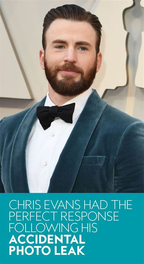 Chris Evans Had the Perfect Response Following His ...
