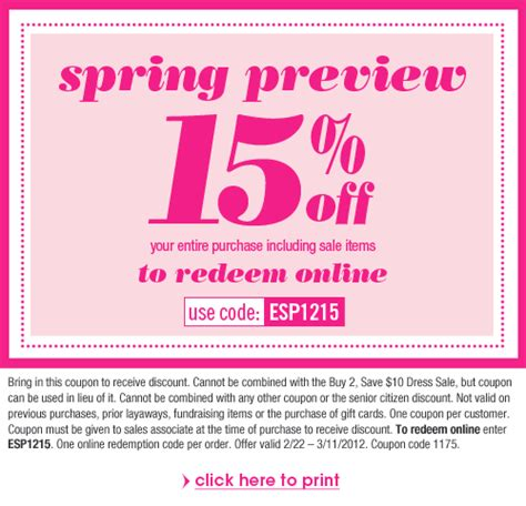 dress barn coupons in free printable coupons dress barn coupons