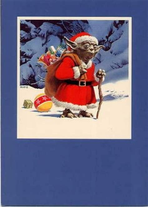 Premium card artist patrick mcquade has sent us another set of fantastic star wars christmas cards featuring some of our favorite characters from the series. 34 amazing Star Wars Christmas cards you wish George Lucas sent you | SyfyWire