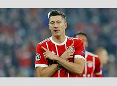 Real Madrid news Bayern Munich striker Robert Lewandowski