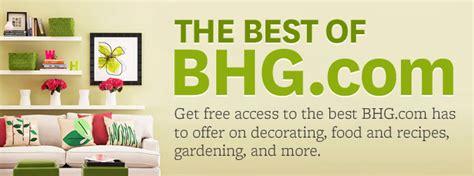 bhg con better homes gardens online