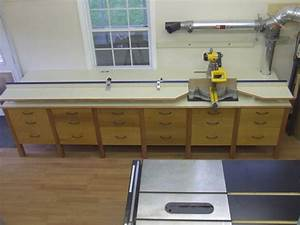 miter saw station finished pics - NC Woodworker Photo