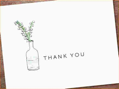 free thank you notes templates 5 free thank you card template ganttchart template