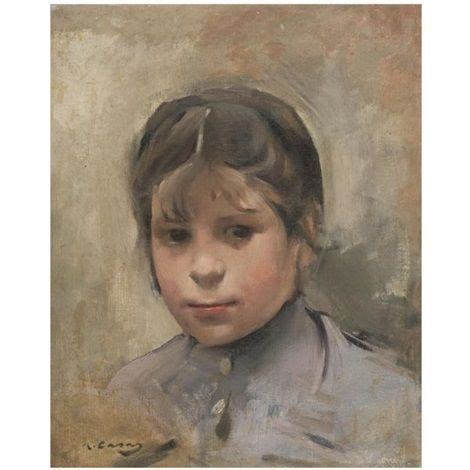 Niña (Portrait of a girl) by Ramón Casas | Portrait ...