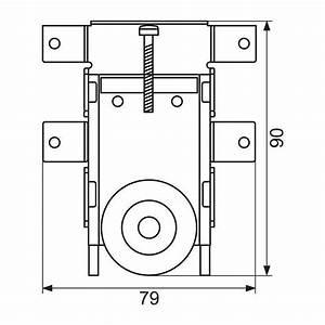 Roulette Pour Porte Coulissante : galet roulette pour porte coulissante x 1 sanilandes ~ Dailycaller-alerts.com Idées de Décoration