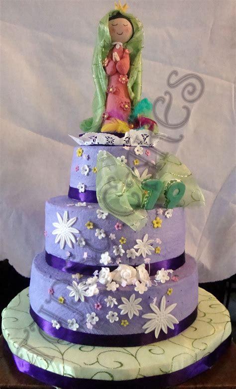 La Virgen De Guadalupe~ Virgen de guadalupe cake by tupsy