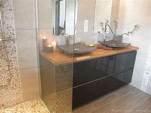 Salle De Bain Baignoire : salle de bain avec douche l 39 italienne et baignoire lot ~ Dailycaller-alerts.com Idées de Décoration