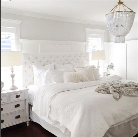 White Bedroom Ideas by Best 25 White Tufted Headboards Ideas On