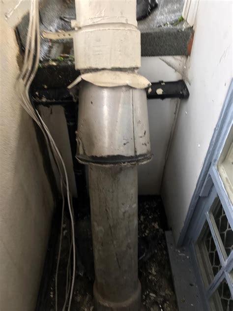 asbestos flue removal   heating camden