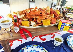How To Throw A Crab Boil Party : Collaboration with